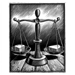 fred-van-deelen-illustrator-Black-and-white-illustration-scraperboard-engraving-scales