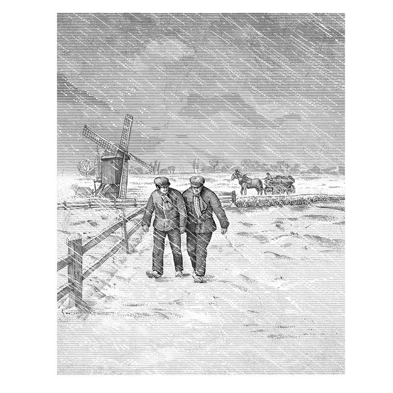 fred-van-deelen-illustrator-Black-and-white-illustration-scraperboard-engraving