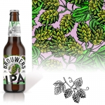 fred-van-deelen-illustrator-beverages-beer-scraperboard-hop-illustration