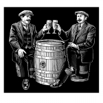 fred-van-deelen-illustrator-beverages-beer-scraperboard-illustration