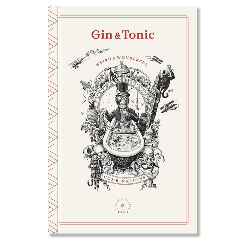 fred-van-deelen-illustrator-beverages-gin-bar-menu-scraperboard-illustration