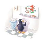 fred-van-deelen-illustrator-colour-pencil-penguin-01