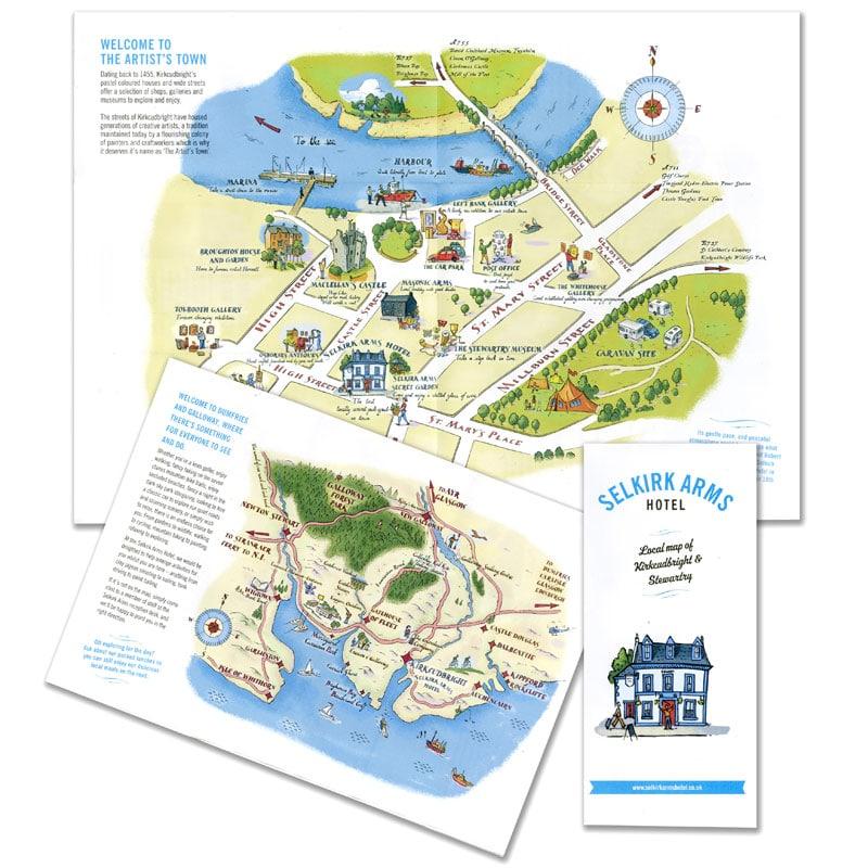 fred-van-deelen-illustrator-maps-Kirkcudbright-