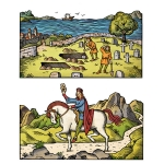 fred-van-deelen-scraperboard-illustration-medieval